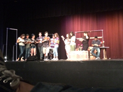 Cesar Chavez high school drama department working on their first show