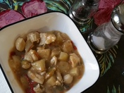 Shirley's Green Chili, Chicken, Potato Soup