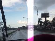 Lightening strike in Daytona