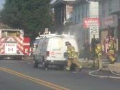 Van Fire at 62 W Main St Palmyra, PA