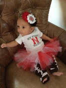EvaMarie's First Husker Game