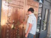 Door to Miner's Museum