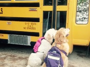 Charlie and Duncan--Back to school!!