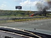 283 truck fire