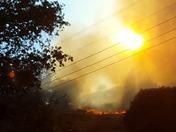 Fire in amador/ calaveras county