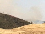 Fire Helicopter at Lake Oroville