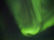 Aurora over Great Slave Lake