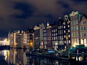 Cool Night in Amsterdam
