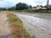 major water flowing in Arrow