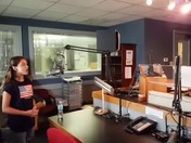 Myra interview on local radio station KCIL 96.7