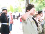 Myra sings the National Anthem 4th July 2015 Veterans Memorial Park celebration