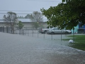 Flooding in Council Bluffs this morning