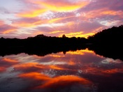 Sunrise, Red Haw Lake
