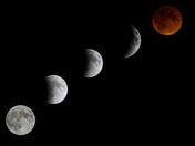 Phases of the Lunar Eclipse 9-27-15