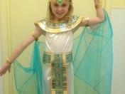 Olivia In Cleopatria Costume For 2013