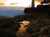 Jay Peak Summit Sunset