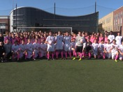 "Boston College High School - soccer teams say ""Good Morning Eyeopener"""