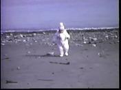 my daughter at short beach winthrop 1985