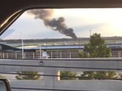 Fire near BWI