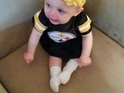 Raising her up black and gold!