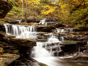 Waterfalls at Ricketts Glen State Park