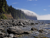 Fog on the Juan de Fuca