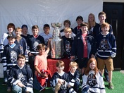 Greenville Youth Hockey Players see The Stanley Cup