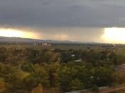 Storm over Socorro county