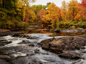 Autumn On The Black River/Kawartha Lakes On