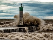 Angry Lake Erie