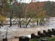 Cedar Falls Park flooding