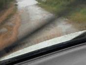 Flooding on Hunter Road Greenwood.