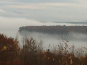 Morning Fog on Lake Winnepausakee