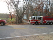 fire @ packers falls rd   fri. nov. 6 3:30 pm