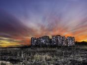 Stone House Sunset