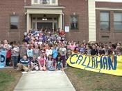 Callahan Elementary School,Norwood  - Good Morning Eyeopener!