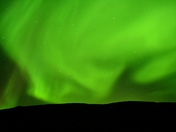 Northern Lights west of Iqaluit