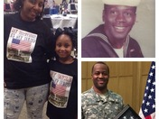 Happy Veterans Day to my Father Charles Johnson and brother Sgt Byron Johnson