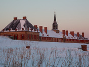 Louisbourg Fortess at dawn