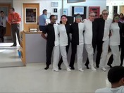 Operating Room staff Dance for sick children