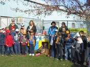 Cub Scouts Pack 42 at Quincy Animal Shelter