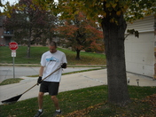 Fall neighbor cleanup