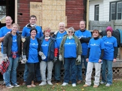 Ameriprise Financial Volunteers Join Nationwide Event at Kenosha Habitat for Hum