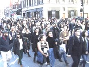 Student Protests Downtown