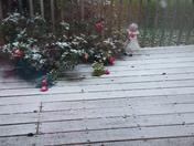 snow this morning
