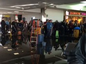 Water sewage leak at BWI