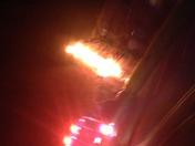 Fire at a condo at Pennsbury Village