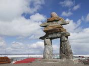 Inukshuk in Rankin Inlet