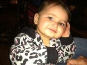 first birthday Dec. 2, 2015 Olivia Ramirez