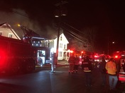 Exeter fire on Oak St